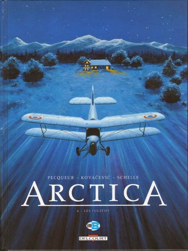 Couverture de Arctica -6- Les fugitifs