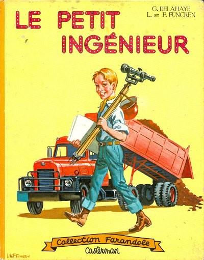 Couverture de (AUT) Funcken - Le petit ingénieur