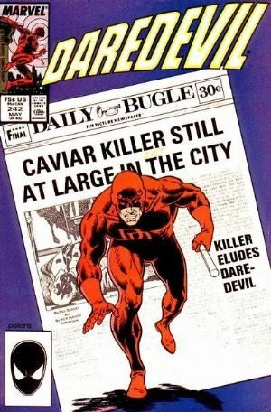 Couverture de Daredevil (1964) -242- Caviar killer