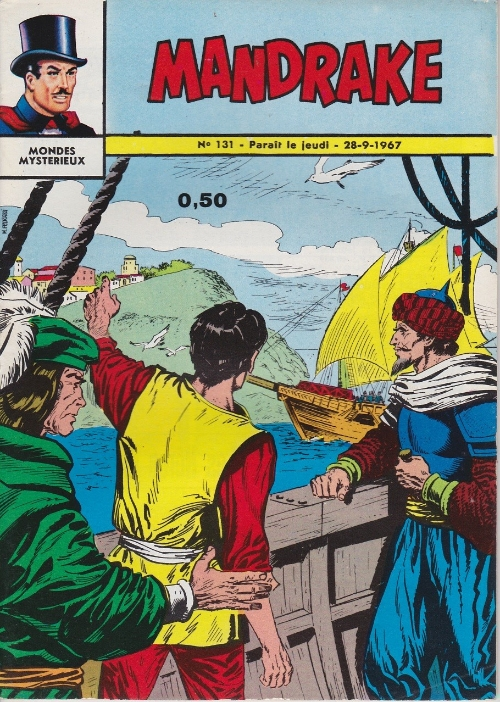 Couverture de Mandrake (1re Série - Remparts) (Mondes Mystérieux - 1) -131- Angoissant dilemme