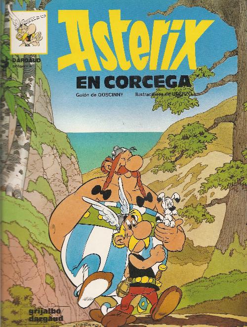 Couverture de Astérix (en espagnol) -20- Astérix en Corcega