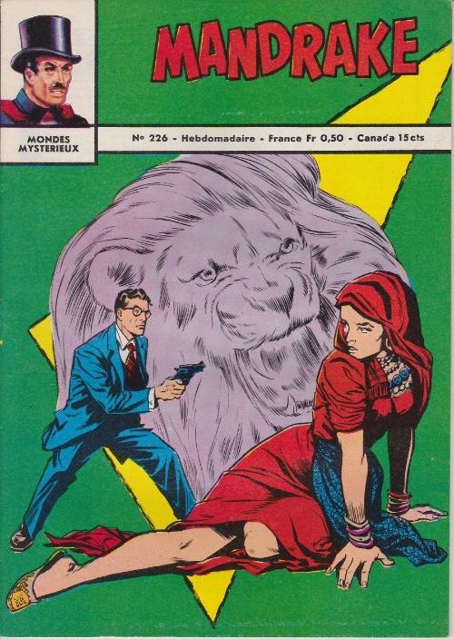 Couverture de Mandrake (1re Série - Remparts) (Mondes Mystérieux - 1) -226- Superhommes venus de l'espace 2