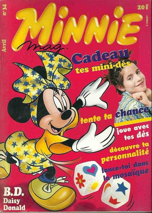 Couverture de Minnie mag -34- Numéro 34
