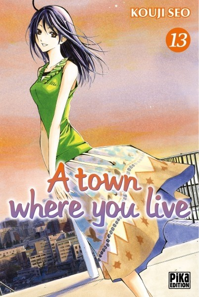 Couverture de A town where you live -13- Tome 13