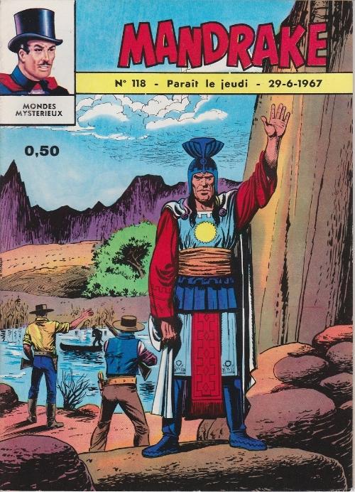 Couverture de Mandrake (1re Série - Remparts) (Mondes Mystérieux - 1) -118- La ville sous les glaces