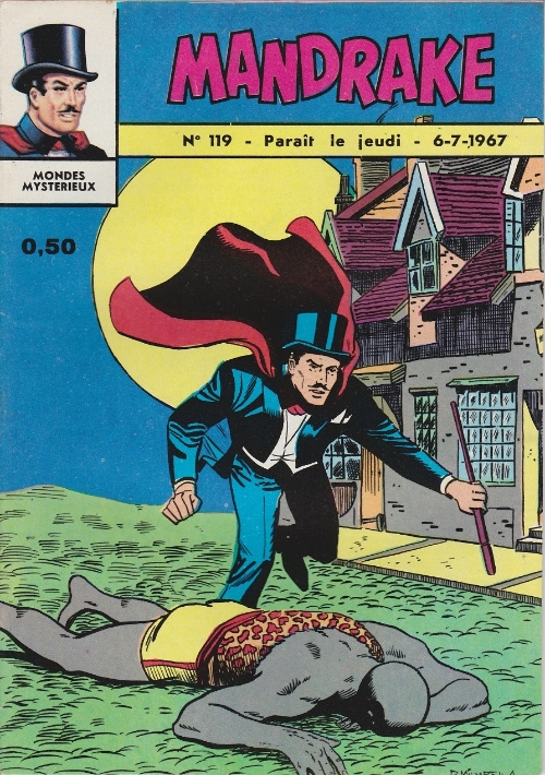 Couverture de Mandrake (1re Série - Remparts) (Mondes Mystérieux - 1) -119- La sorcière du village
