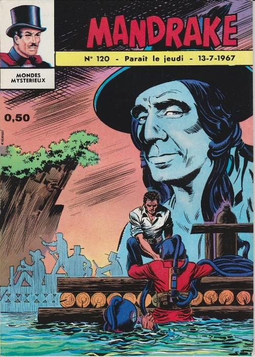 Couverture de Mandrake (1re Série - Remparts) (Mondes Mystérieux - 1) -120- Le fantôme volant