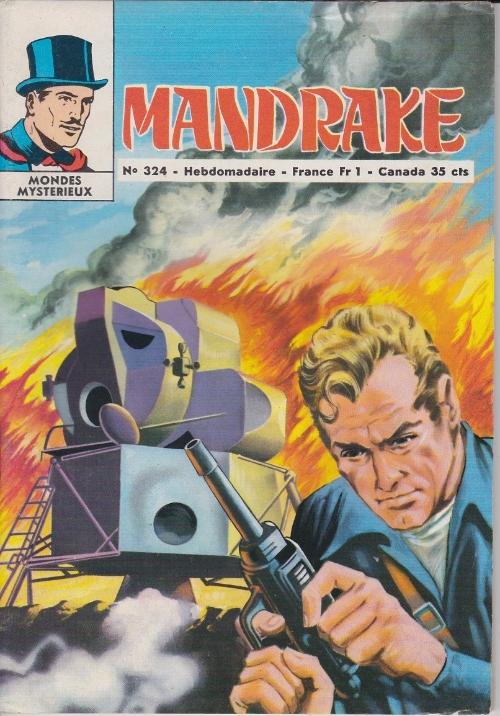 Couverture de Mandrake (1e Série - Remparts) (Mondes Mystérieux - 1) -324- Chasse dans le marécage