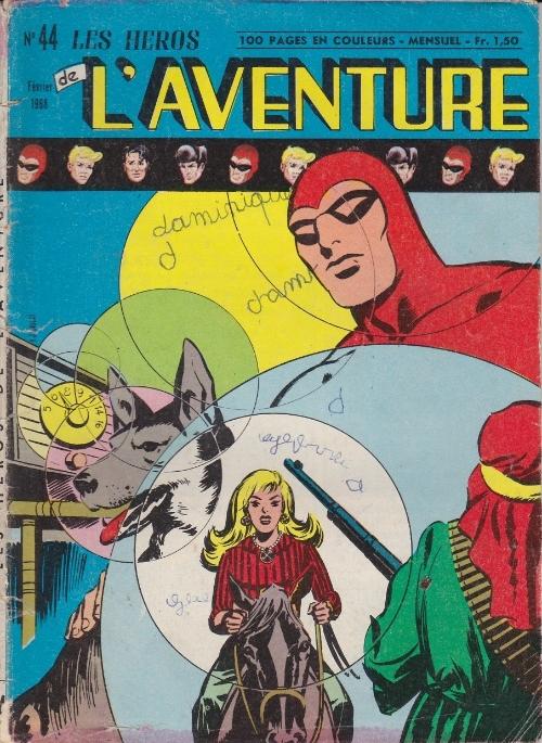 Couverture de Les héros de l'aventure (Classiques de l'aventure, Puis) -44- Le Fantôme : L'otage et la nuit