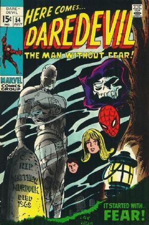 Couverture de Daredevil (1964) -54- Call him... Fear !