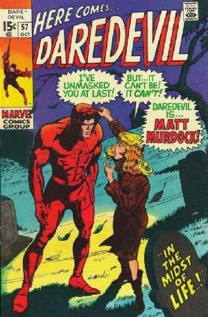 Couverture de Daredevil (1964) -57- In the Midst of Life...!