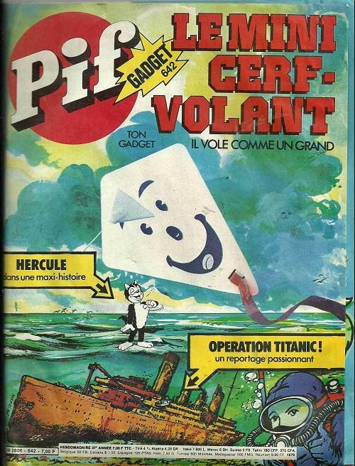 Couverture de Pif (Gadget) -642- Hercule