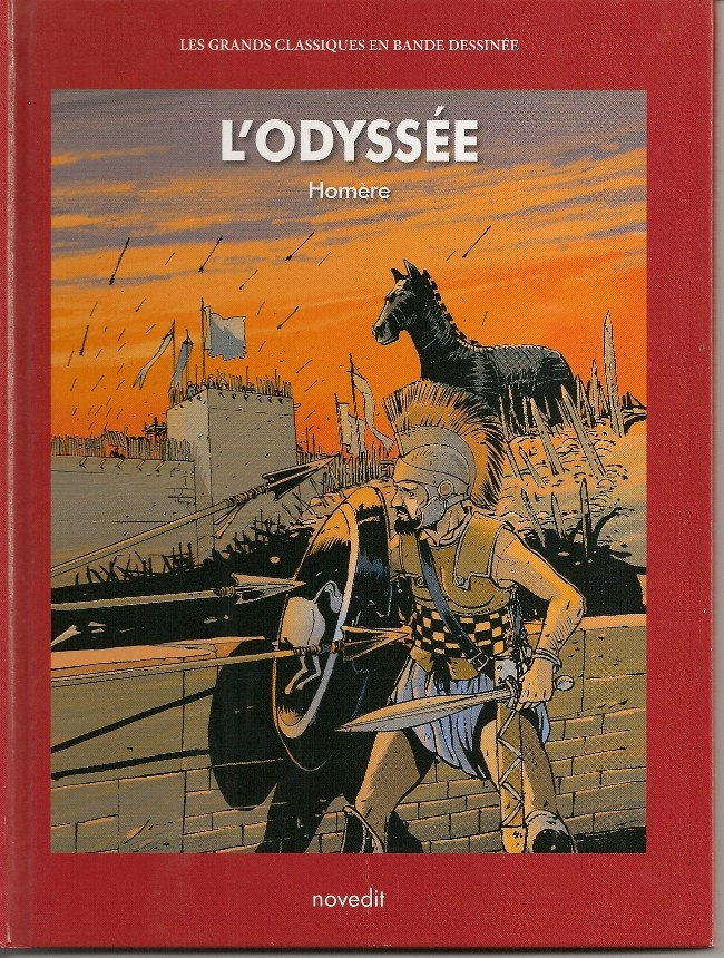Couverture de Les grands Classiques en bande dessinée - L'Odyssée