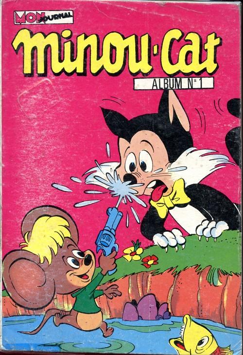 Couverture de Minou cat -Rec01- Du n°1 au n°4