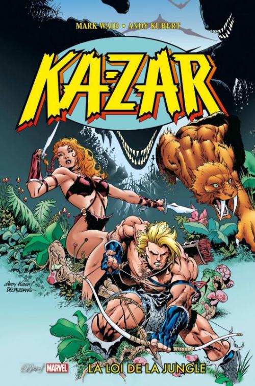 Couverture de Best of Marvel -38- Ka-Zar : La Loi de la jungle