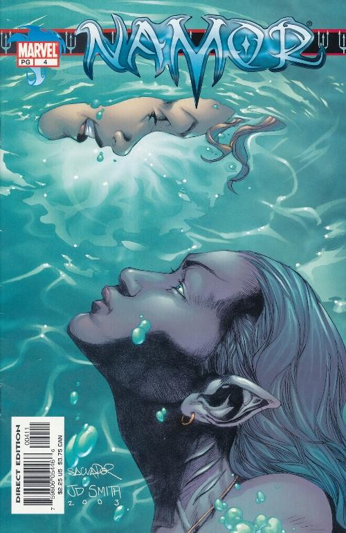 Couverture de Namor (2003) -4- Numéro 4