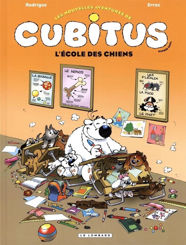 Couverture de Cubitus (Les nouvelles aventures de) -9- L'école des chiens