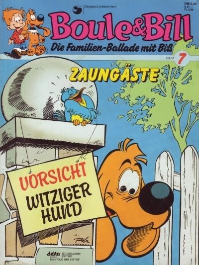 Couverture de Boule & Bill (en allemand) -7- Zaungäste