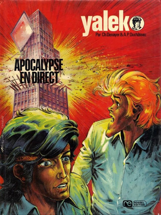 Couverture de Yalek -5- Apocalypse en direct