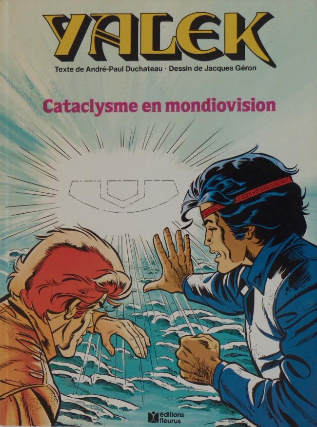 Couverture de Yalek -91- Cataclysme en mondiovision