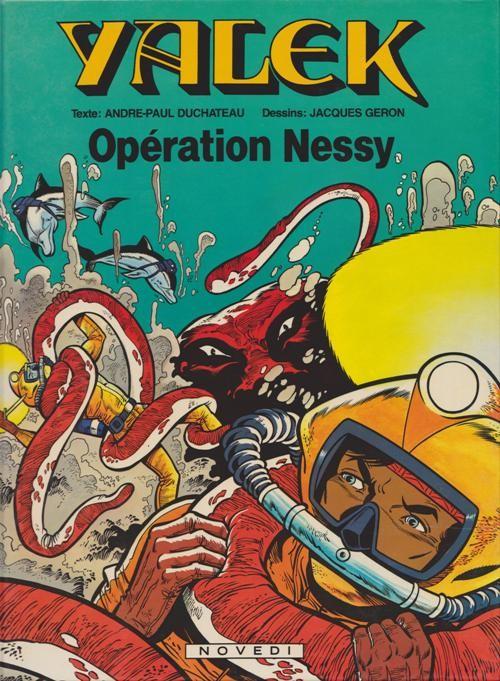 Couverture de Yalek -113- Opération Nessy