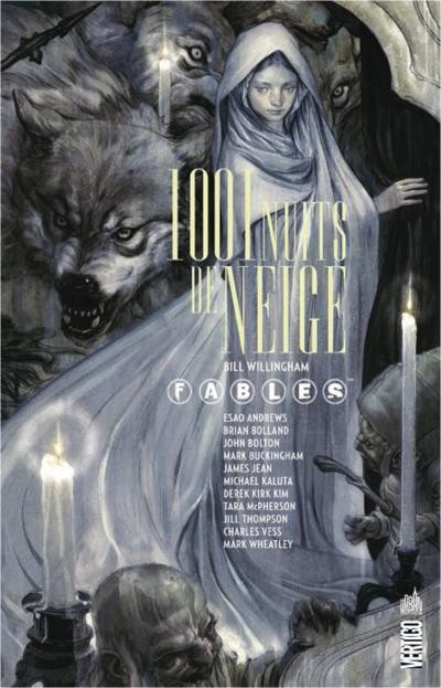 Couverture de Fables (Urban Comics) -GN- 1001 Nuits de Neige