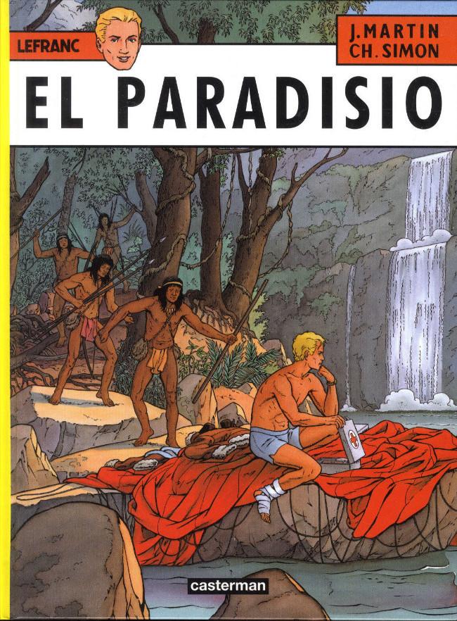 Couverture de Lefranc -15- El Paradisio