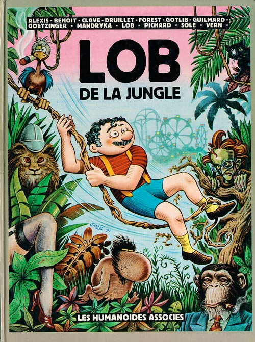 Couverture de Lob de la jungle