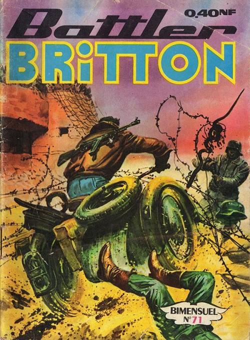 Couverture de Battler Britton -71- Le vrai devoir - le révolté - black out