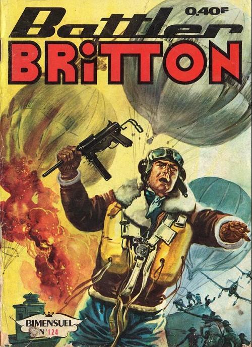 Couverture de Battler Britton -124- Les Chevaliers de bushido