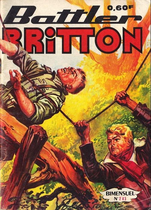 Couverture de Battler Britton -243- Parole d'honneur - le lâche