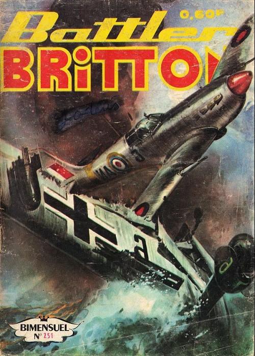 Couverture de Battler Britton -251- Arme secrète - les