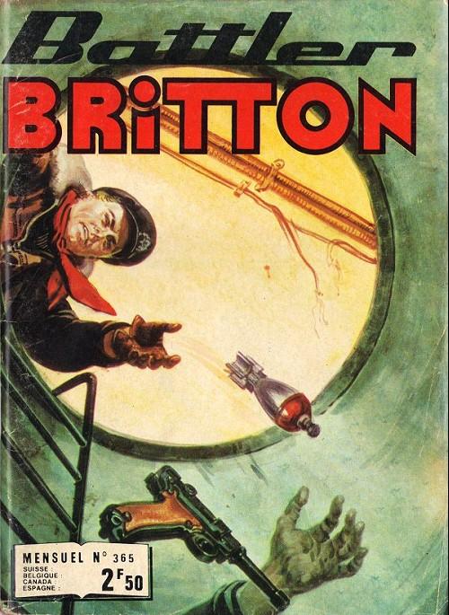 Couverture de Battler Britton (Imperia) -365- Escadrille internationale - le culte du diable