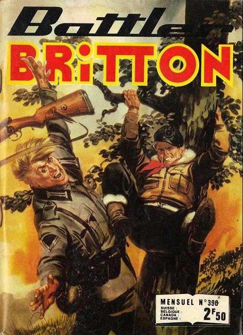 Couverture de Battler Britton -390- Le Volcan ! - Le Rampant