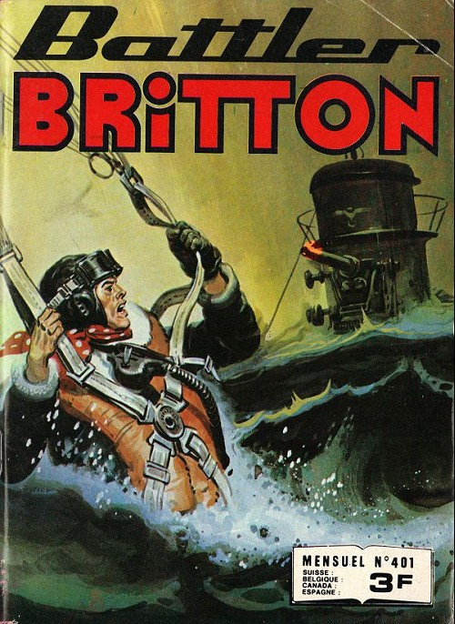 Couverture de Battler Britton (Imperia) -401- Vengeance birmane -
