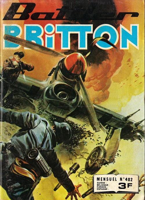 Couverture de Battler Britton -402- Le remplaçant - le loup solitaire