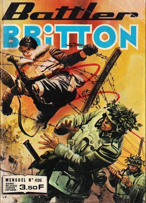 Couverture de Battler Britton -406- Attaque en formation - ciel dangereux