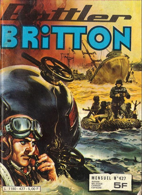 Couverture de Battler Britton -427- Dernière tentative - le déserteur - ballade pour une tortue
