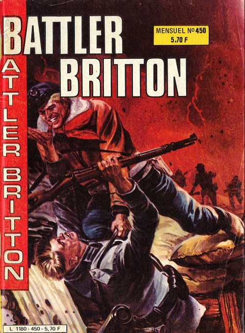 Couverture de Battler Britton -450- Passage périlleux - sa vieille