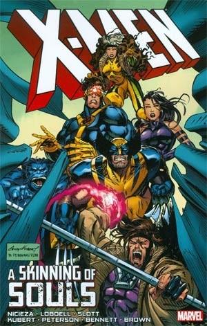 Couverture de X-Men (1991) -INT- A Skinning of Souls