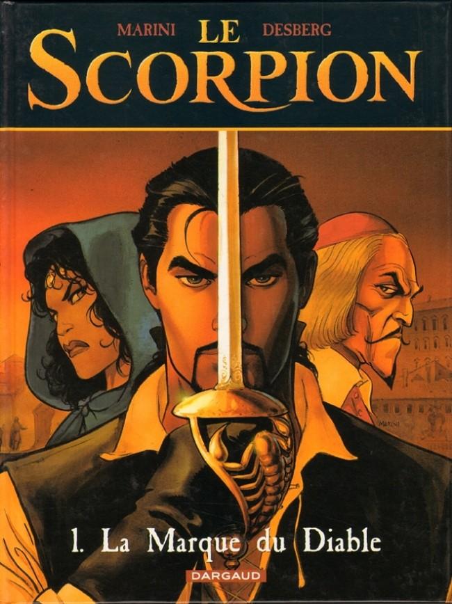 Couverture de Le scorpion -1- La Marque du Diable