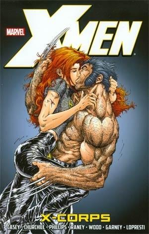 Couverture de Uncanny X-Men (The) (1963) -INT- X-Corps