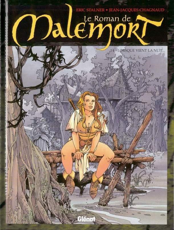 Couverture de Le roman de Malemort -4- Lorsque vient la nuit...