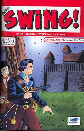 Couverture de Capt'ain Swing! (2e série - Mon Journal) -154- Le mystère de la Zerbine