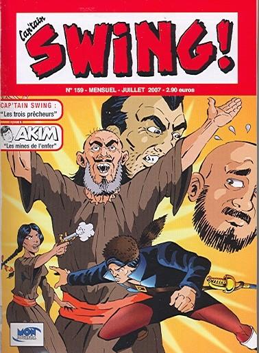 Couverture de Capt'ain Swing! (2e série - Mon Journal) -159- Les trois prêcheurs