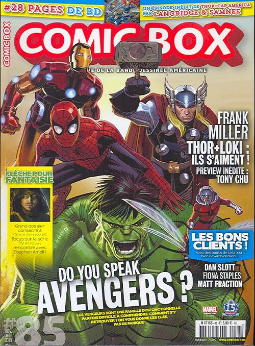 Couverture de Comic Box (1re série) -85- Comic Box 85