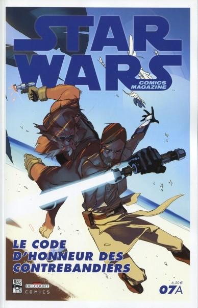Couverture de Star Wars - Comics magazine -7A- Le Code d'honneur des contrebandiers