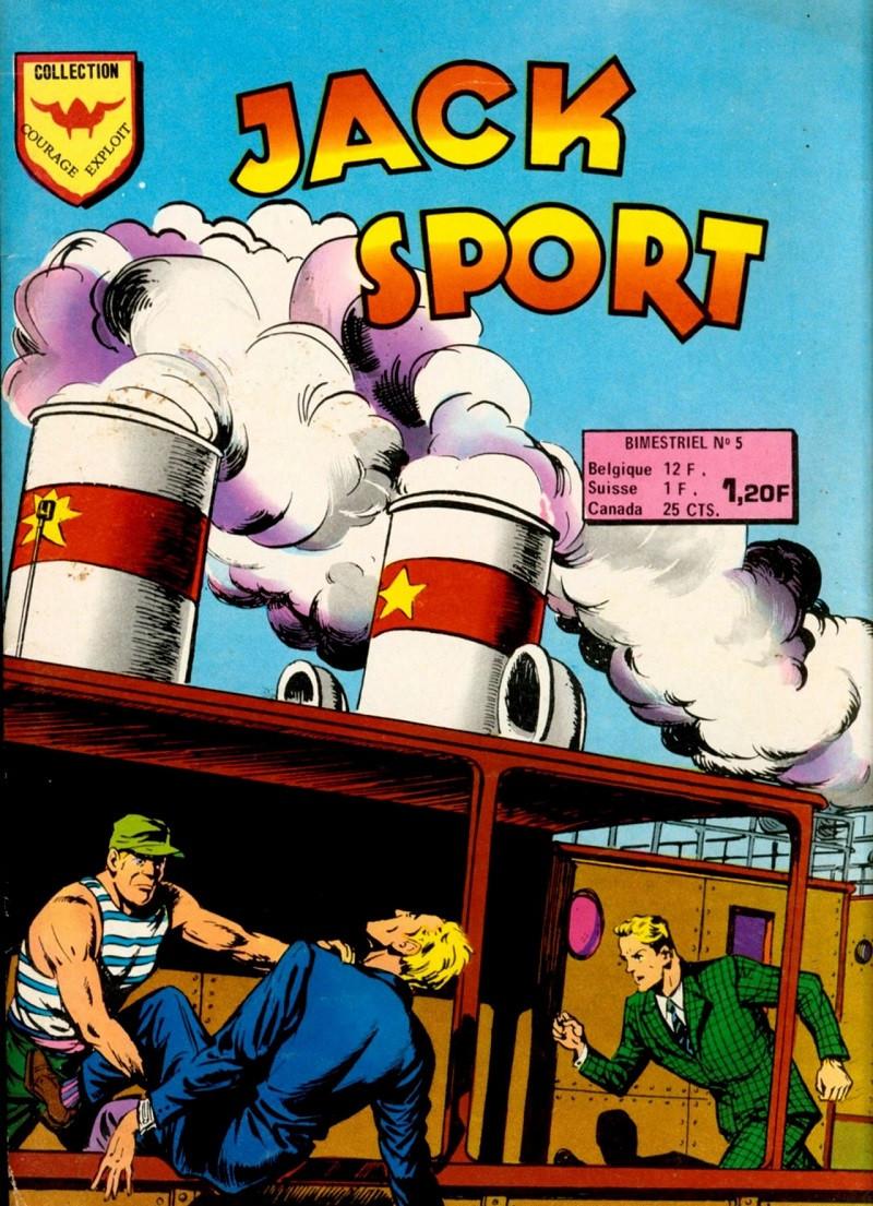 Jack Sport - les 10 tomes