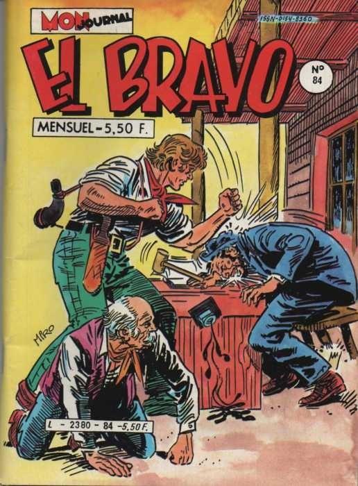 Couverture de El Bravo (Mon Journal) -84- La fin du Sud