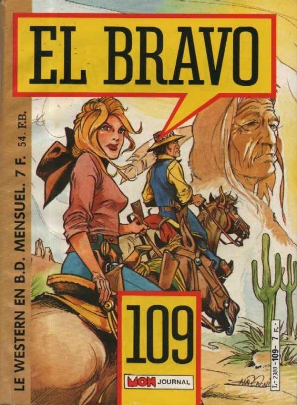 Couverture de El Bravo (Mon Journal) -109- La piste rouge